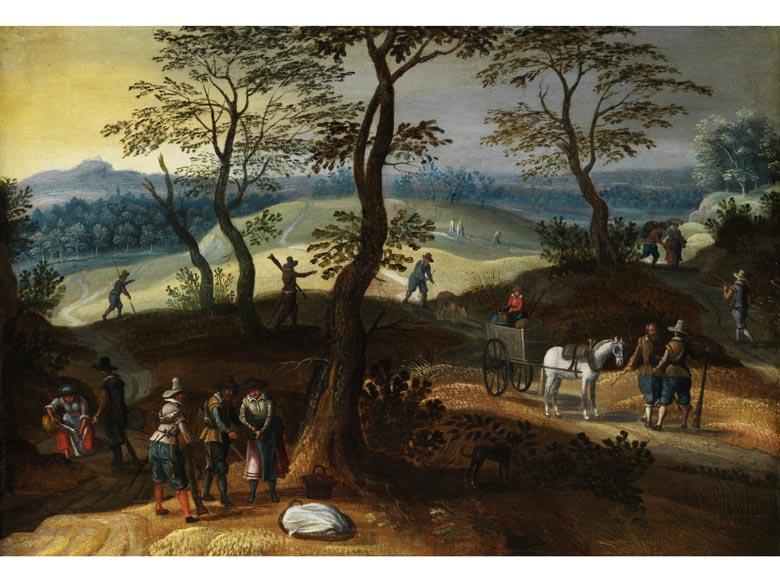 Sebastian Vrancx, 1573 Antwerpen - 1647, zug.