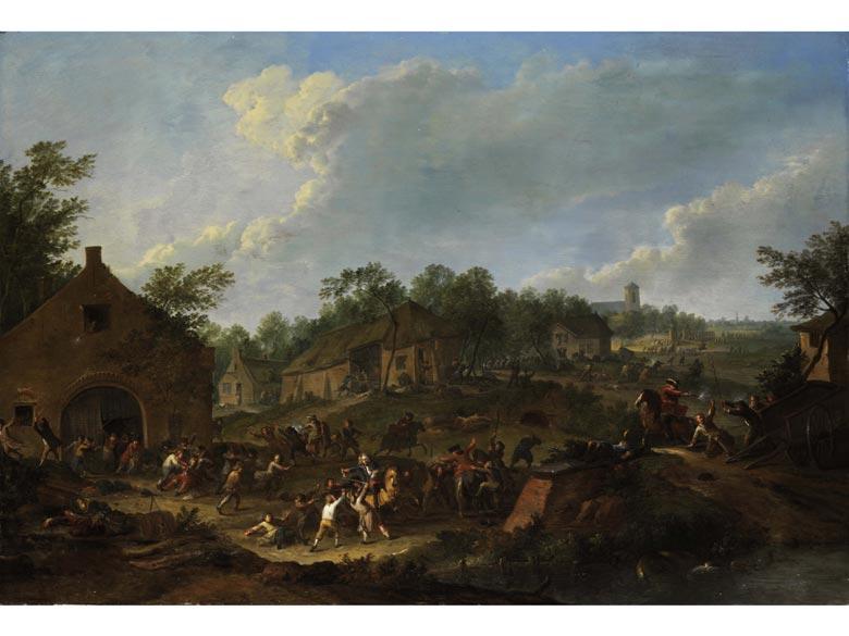 Karel Breydel (le Cavalier), 1678 - 1733 Antwerpen