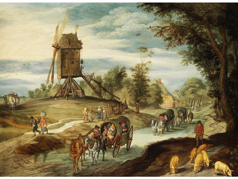 Jan Brueghel der Jüngere, 1601 Antwerpen - 1678