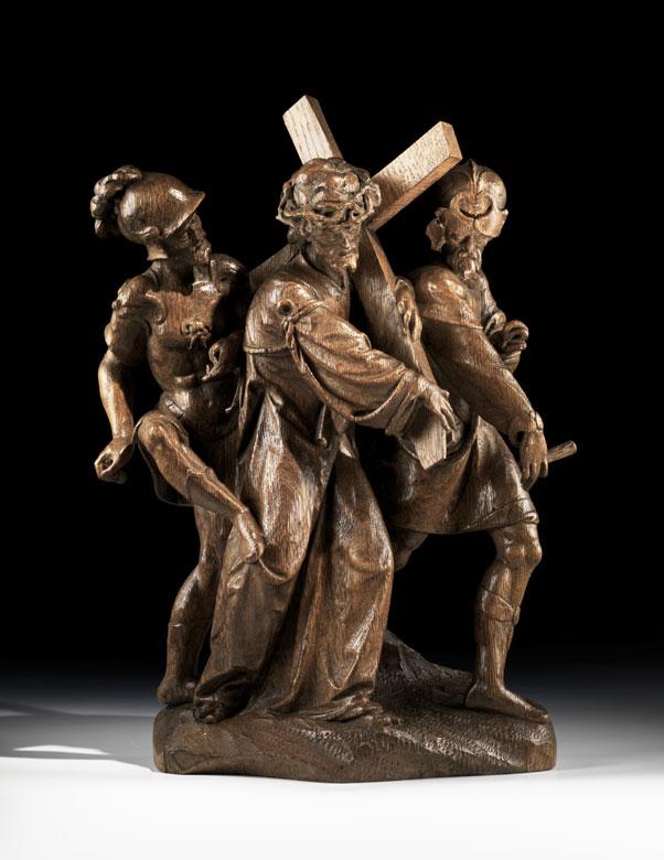 Flämischer Bildschnitzer des 16. Jahrhunderts