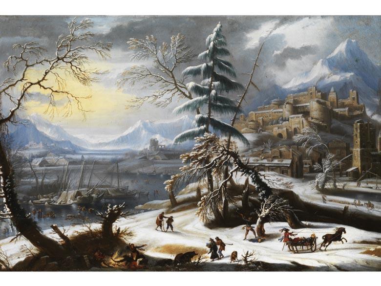 Jan Griffier, 1645 - 1718 London