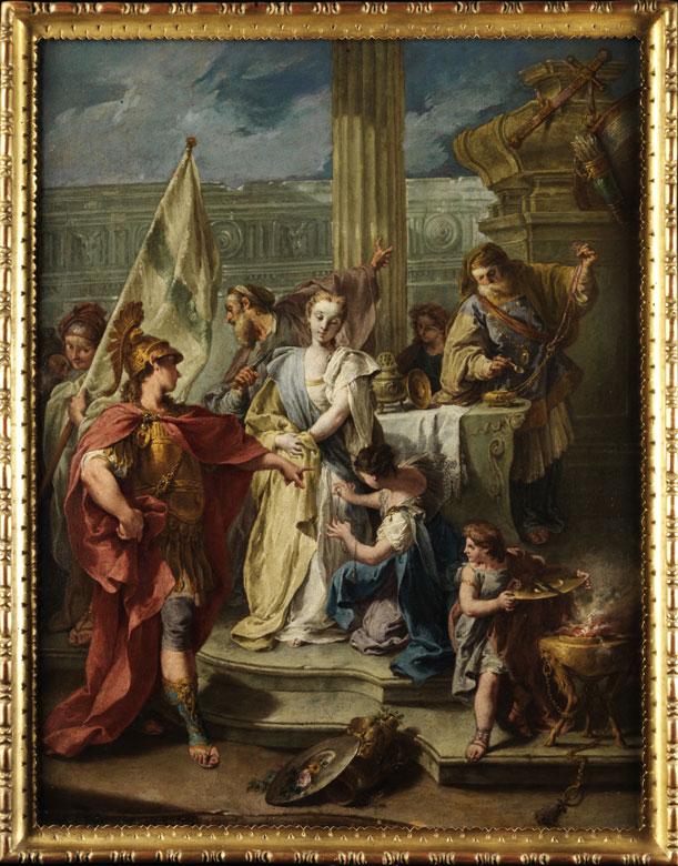 Francesco Salvator Fontebasso, 1709 - 1769 Venedig, zug. Italienischer Maler aus dem Umkreis von Tiepolo