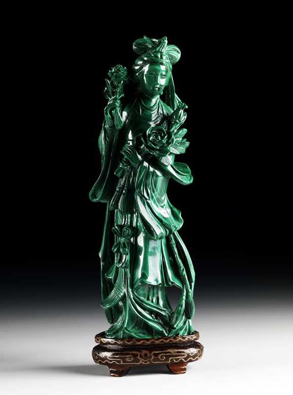 Malachit-Figur