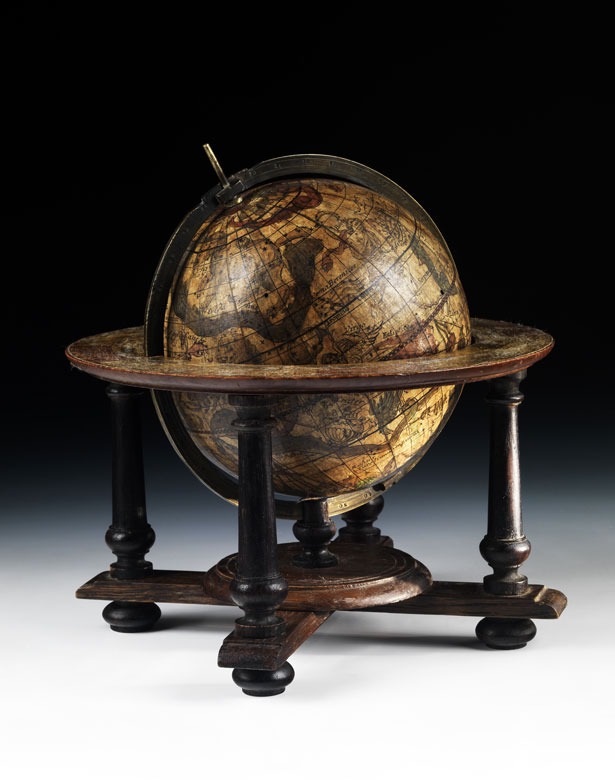 Seltener Himmelsglobus