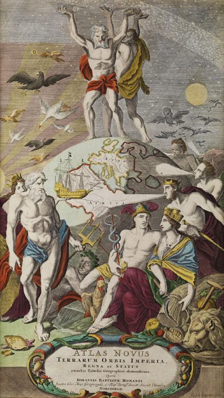 Titelkupfer der Mappe von Johann Baptist Fohmann/ Nürnberg