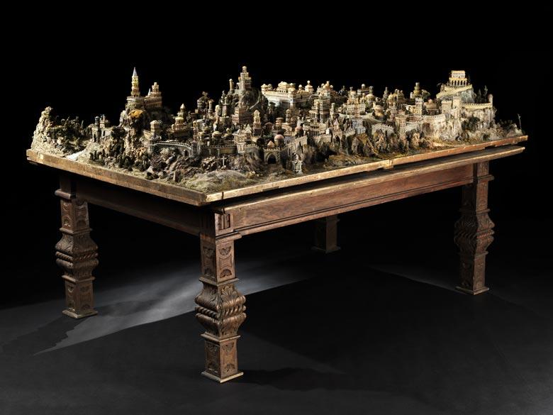 Stadtmodell von Jerusalem