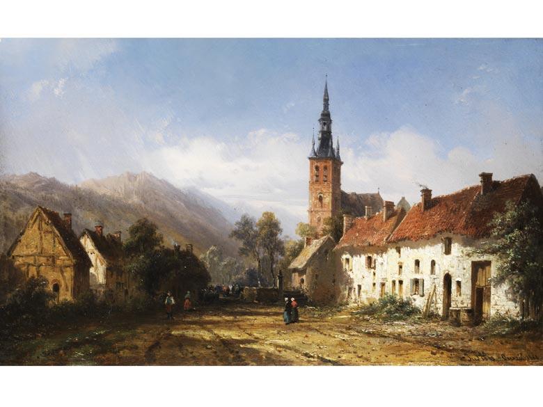 Pierre Justin Ouvrié, 1806 - 1879