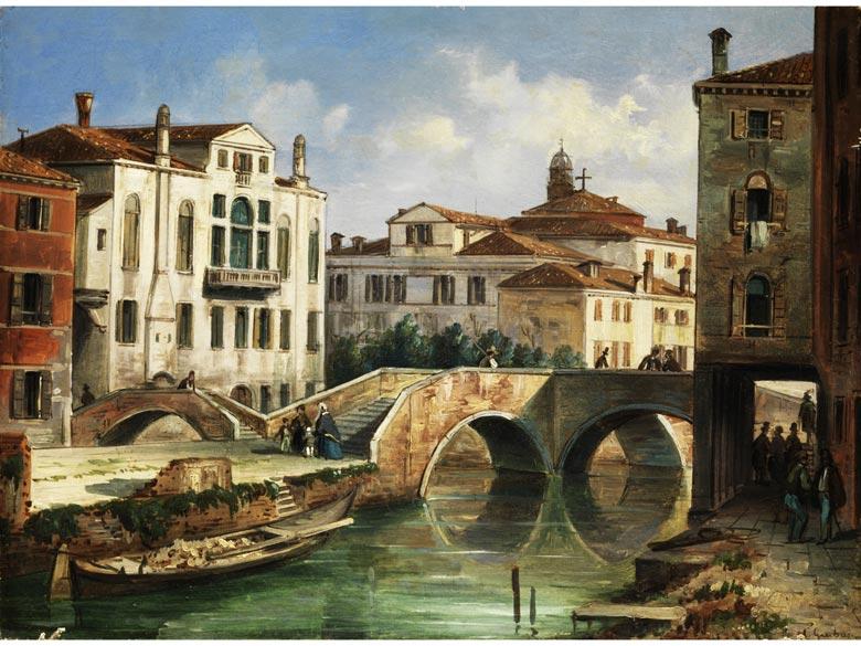 Carlo Grubacs, 1810 Venedig - 1870