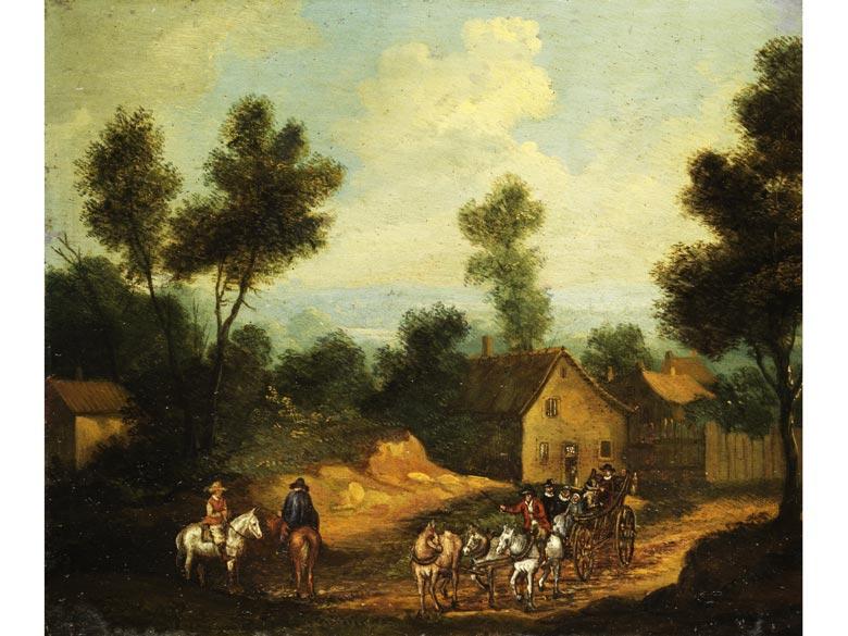 Herman Saftleven, 1609 Rotterdam - 1685 Utrecht, zug.