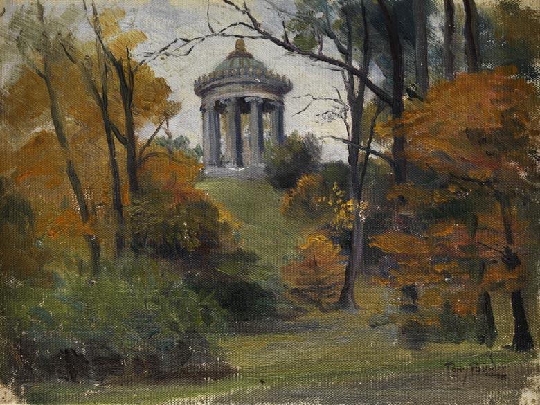 Tony Binder, 1868 Wien - 1944 Nördlingen, Maler der Münchner Schule.