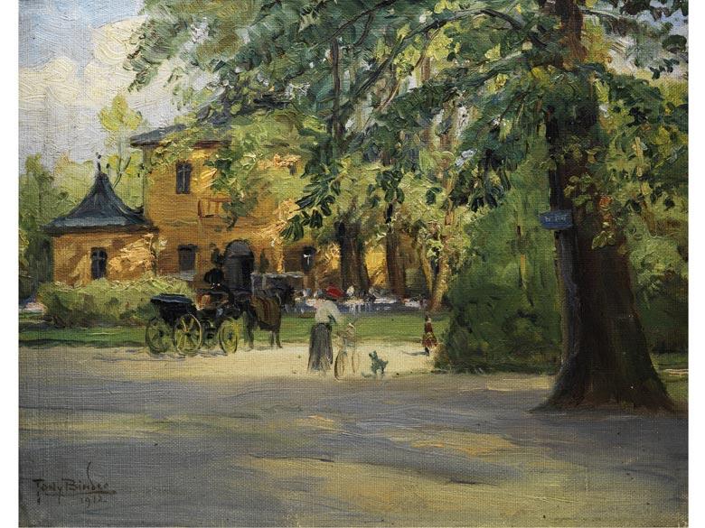 Tony Binder, 1868 Wien - 1944 Nördlingen, Maler der Münchner Schule