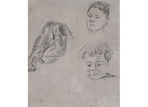 Detail images:  Paul Cézanne, 1839 Aix-en-Provence - 1906