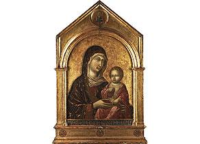 Detail images:  Sieneser Schule des 14./ 15. Jahrhunderts