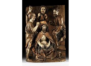 Detail images:  Niederrheinischer Bildschnitzer des 15./16. Jahrhunderts