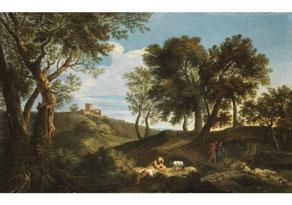 Andrea Locatelli,  1693 Rom - 1741