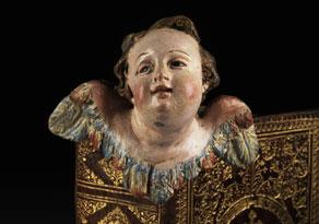 Detail images:  Neapolitanisches Puttenköpfchen