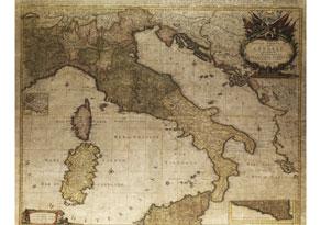 Detail images:  Landkarte von Italien