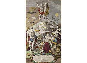 Detail images:  Titelkupfer der Mappe von Johann Baptist Fohmann/ Nürnberg