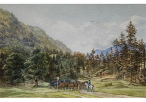 Detail images:  Heinrich Adam, 1787 Nördlingen - 1862 München