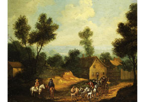 Detail images:  Herman Saftleven, 1609 Rotterdam - 1685 Utrecht, zug.