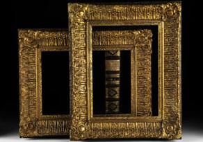 Detail images:  Paar Rahmen
