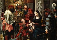 Detail images: Jan Van Dornicke, Meister von 1518, zug.