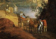 Detail images: Jan Brueghel der Jüngere, 1601 Antwerpen - 1678, zug.