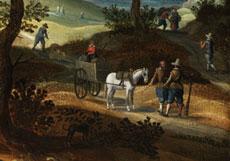 Detail images: Sebastian Vrancx, 1573 Antwerpen - 1647, zug.