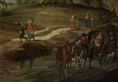 Detail images: Jan Brueghel der Jüngere, 1601 Antwerpen - 1678