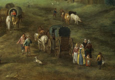 Detail images: Karel Beschey, 1706 - 1776, Nachfolge Jan Brueghel der Jüngere