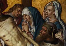 Detail images: Aelbrecht Bouts, 1460 Leuven - 1549, zug.