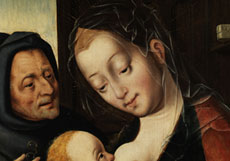 Detailabbildung: Joos van Cleve, um 1485 Kleve - um 1540 Antwerpen, zug.
