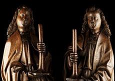 Detail images: Niederrheinisch/Flämischer Meister des 15. Jahrhunderts