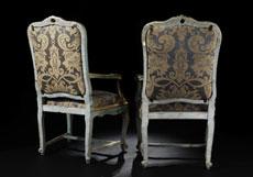 Detail images: Paar Rokoko-Sessel