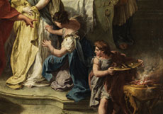 Detail images: Francesco Salvator Fontebasso, 1709 - 1769 Venedig, zug. Italienischer Maler aus dem Umkreis von Tiepolo