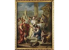Detailabbildung: Francesco Salvator Fontebasso, 1709 - 1769 Venedig, zug. Italienischer Maler aus dem Umkreis von Tiepolo