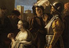 Detailabbildung: Hendrick ter Brugghen, 1588 - 1629, zug.