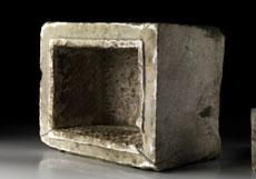 Detailabbildung: Römisches Marmor-Ossuarium