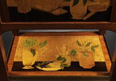 Detail images: Paar bedeutende Schreibschränkchen