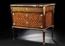 Detail images: Elegantes Kommodenpaar im Louis XVI-Stil