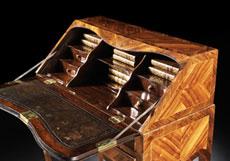 Detail images: Kleiner Louis XV-Damensekretär