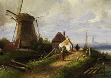 Detail images: Charles Henri Joseph Leickert, 1816 Brüssel - 1907 Mainz