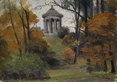 Detailabbildung: Tony Binder, 1868 Wien - 1944 Nördlingen, Maler der Münchner Schule.