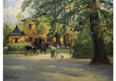 Detailabbildung: Tony Binder, 1868 Wien - 1944 Nördlingen, Maler der Münchner Schule