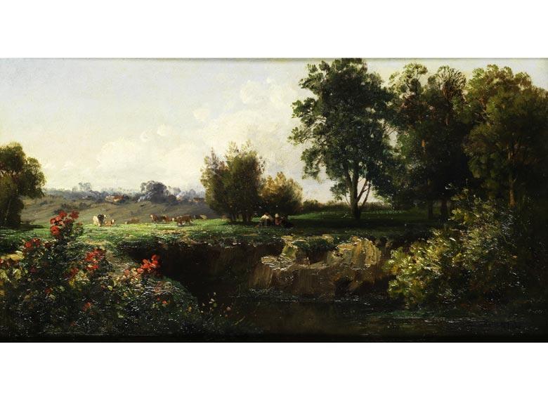 Johannes Josephus Destrée, 1827 Laeuwen - 1888 Den Haag