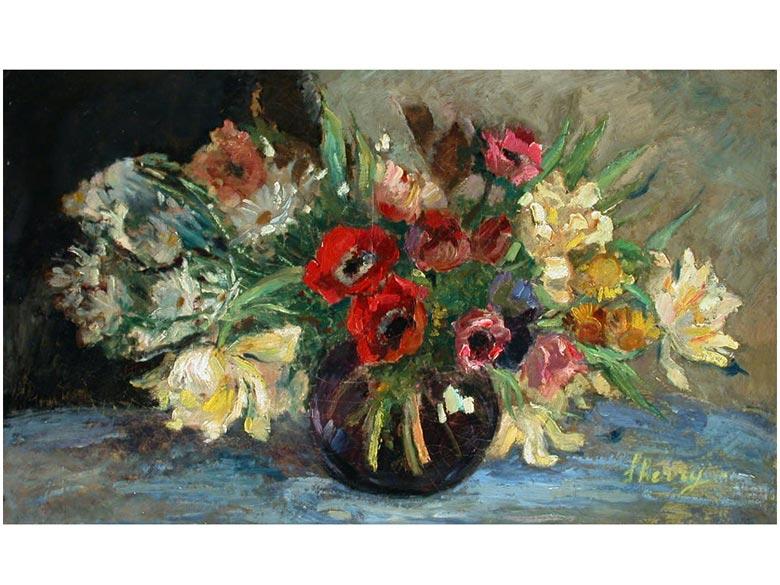 Katherine Cherry, 1880 - 1931, Amerikanische Malerin des 20. Jahrhunderts