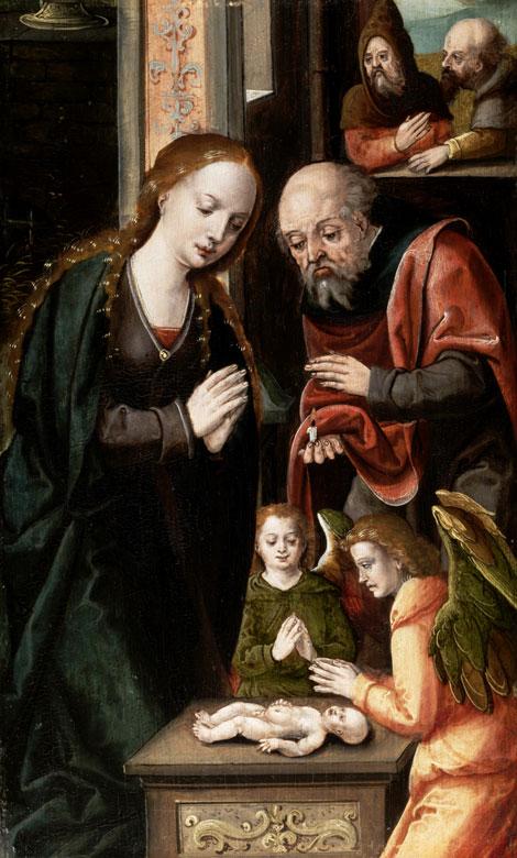 Pieter Coecke van Aelst, 1502 Alst - 1550 Brüssel, zug.