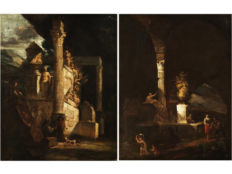 Giovanni Paolo Pannini, 1692 Piacenza - 1765 Rom, Werkstatt/ Nachfolge des