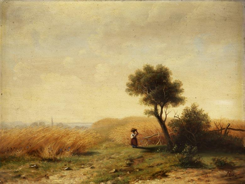 August Friedrich Reinhardt, zug., 1831 Leipzig - 1915 Dresden
