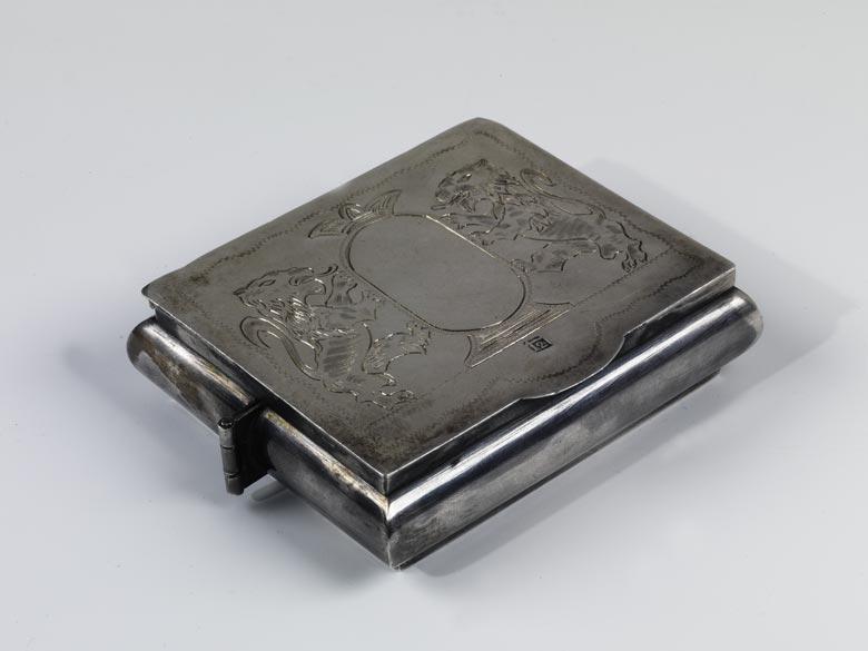 † Chanukka-Reiseleuchter in Silber